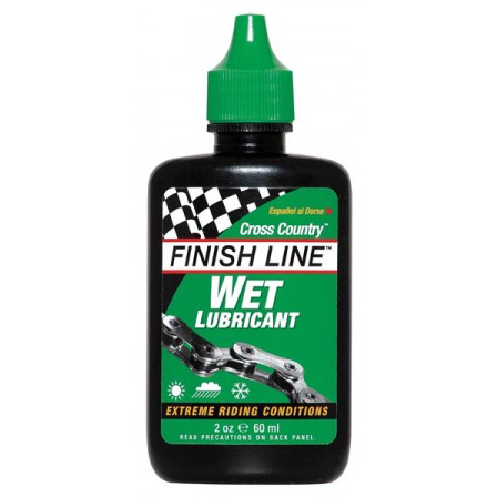 Olej Finish Line Wet Lubricant 60ml