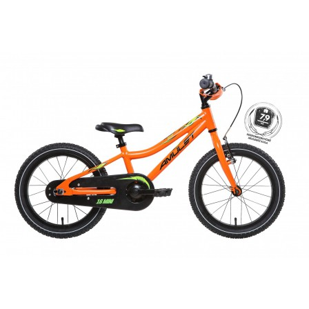 "Amulet Mini Alloy 16"" orange"