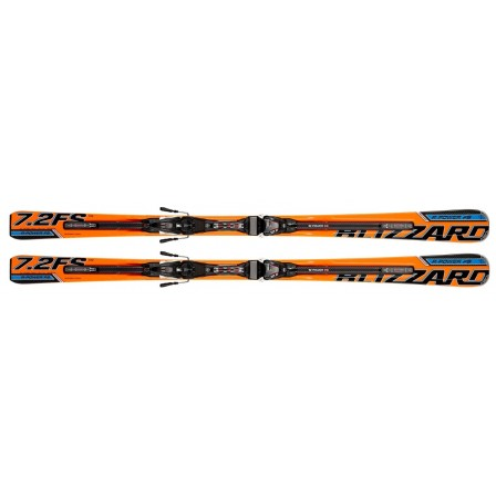 Lyže Blizzard R-Power Full Suspension IQ 7.2 167 cm + vázání Power 12.0