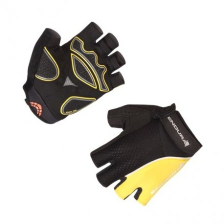 Cyklistické rukavice Endura Xtract Mitt - Yellow - vel. L