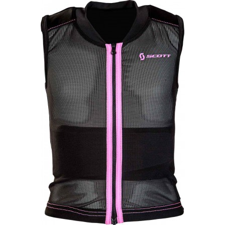 Páteřák Scott Jr.Back  Vest Protect. Soft pink vel.XXS
