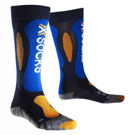 Ponožky X-Socks Ski Carving Silver Junior vel. 31/34