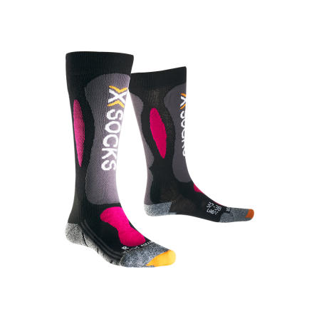 Ponožky X-Socks Ski Carving Silver Women vel. 35/36