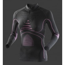 X-Bionic Accumulator Evo Lady Shirt Long Zip črn.vel.L/XL