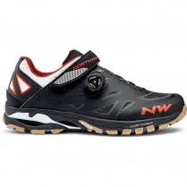 Tretry NORTHWAVE Spider Plus 2 - Black/Off Wh./Orange vel. 44