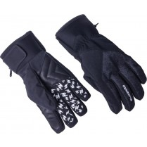 lyžařské rukavice BLIZZARD Chamonix ski gloves, black/grey