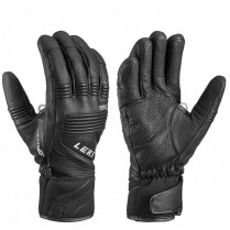 Rukavice lyž. Leki Glove eleMents Platinium S blk 090