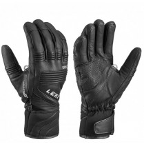 Rukavice lyž. Leki Glove eleMents Platinium S blk 080