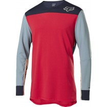 Dres FOX Defend Delta™ Ls Jersey - Bright Red vel. M