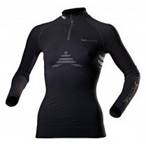 X-Bionic Energizer Lady Shirt Long Sleeve Zip črn.vel. XS