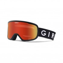 GIRO Roam Black Amber Scarlet/Yellow