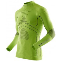 X-Bionic Accumulator Evo Shirt Long Man Turtle Neck Green/Charcoal vel. XXL