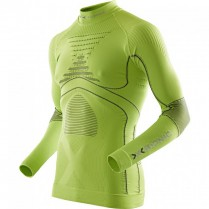 X-Bionic Accumulator Evo Shirt Long Turtle Neck Man Green vel. S/M