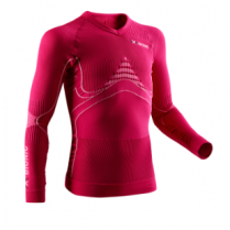 X-Bionic Accumulator Jr. Shirt Long Sleeves Pink vel. 6/7