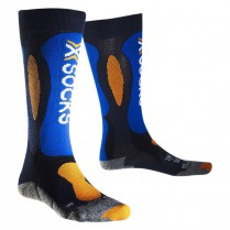 Ponožky X-Socks Ski Carving Silver Junior 27/30
