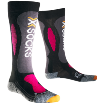 Ponožky X-Socks Ski Carving Silver Women 41/42